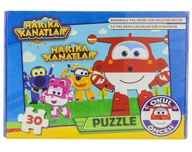 HARİKA KANATLAR Puzzle Renkli